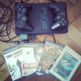PS2 + 4hry a memory card 8MB